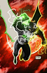 Multi Power Ring Batman by ComicMultiverse