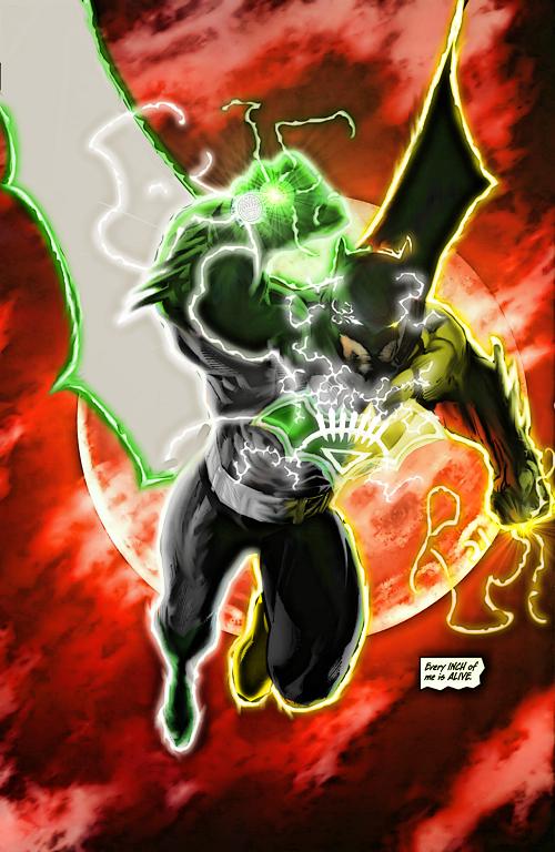 Batman Uses Yellow Ring