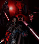 Red Lantern Sith Lords