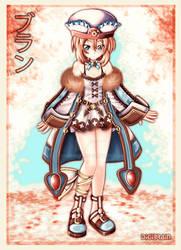 Lady Blanc! by DigiBrain