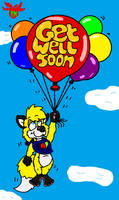 Get well Soon Louie by Coolfruits