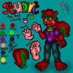 Stuart Red skunk reference sheet