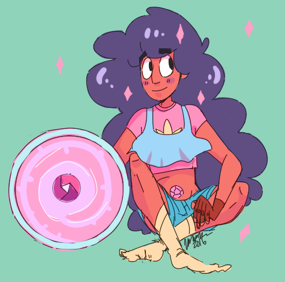 Stevonnie is my favorite character by far in steven universe. They're so precious AGH. I wonder if I should do some cheap commissions for fanart like this.