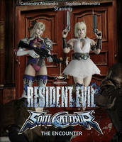 Resident Evil SoulCalibur - The Encounter by FoxboroNRoses