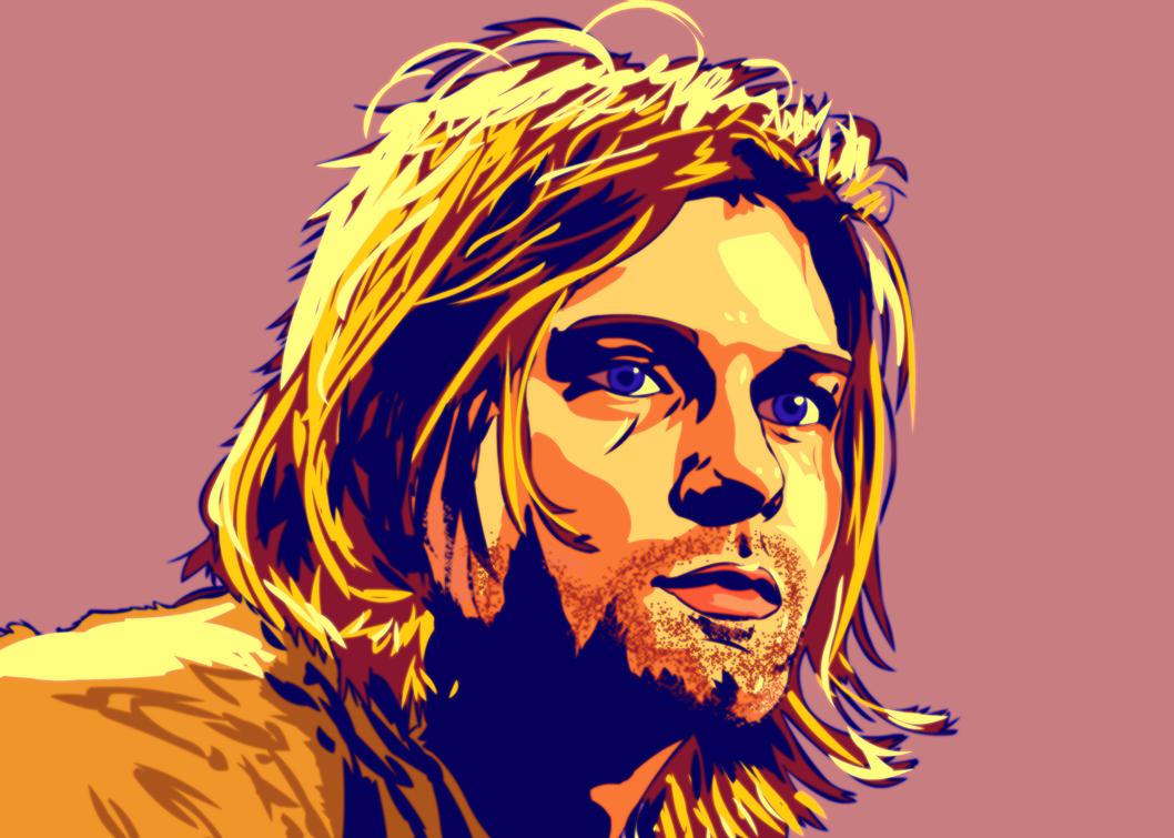 Kurt Cobain. by SzymonWajner