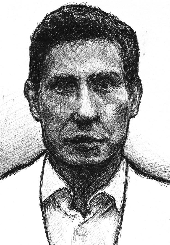 Sketch of a man. by SzymonWajner