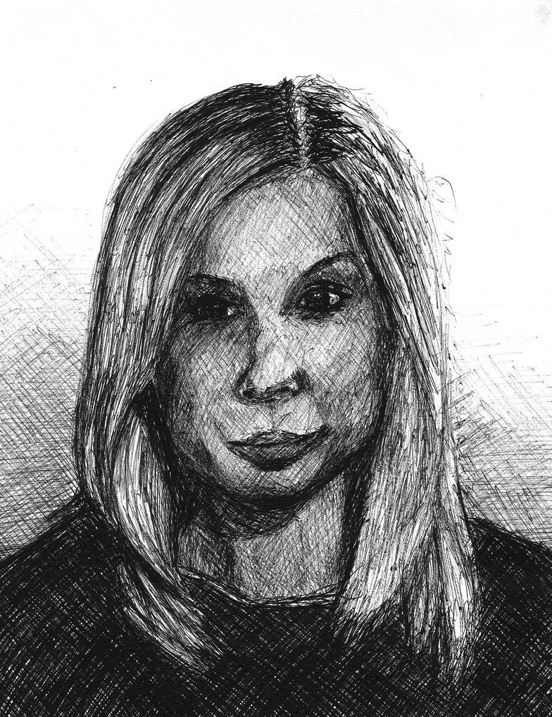 Sketch of a woman. by SzymonWajner