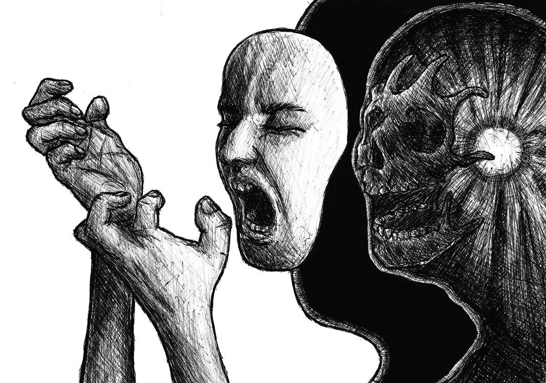 Headache. by SzymonWajner