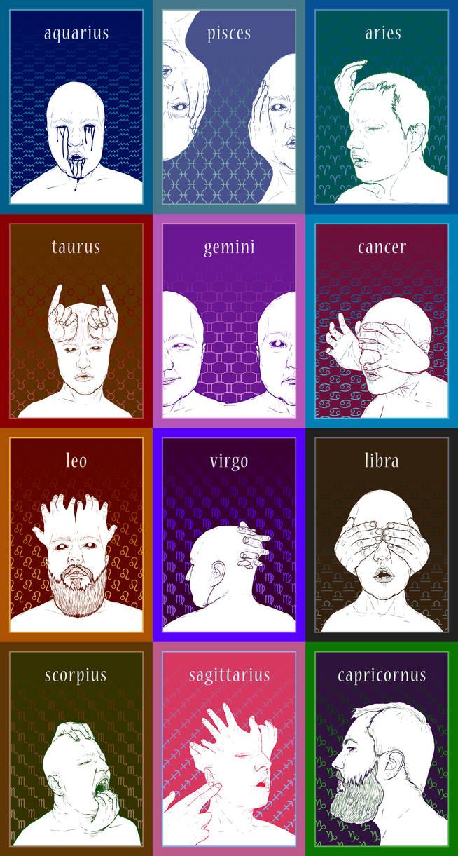Zodiac signs. by SzymonWajner