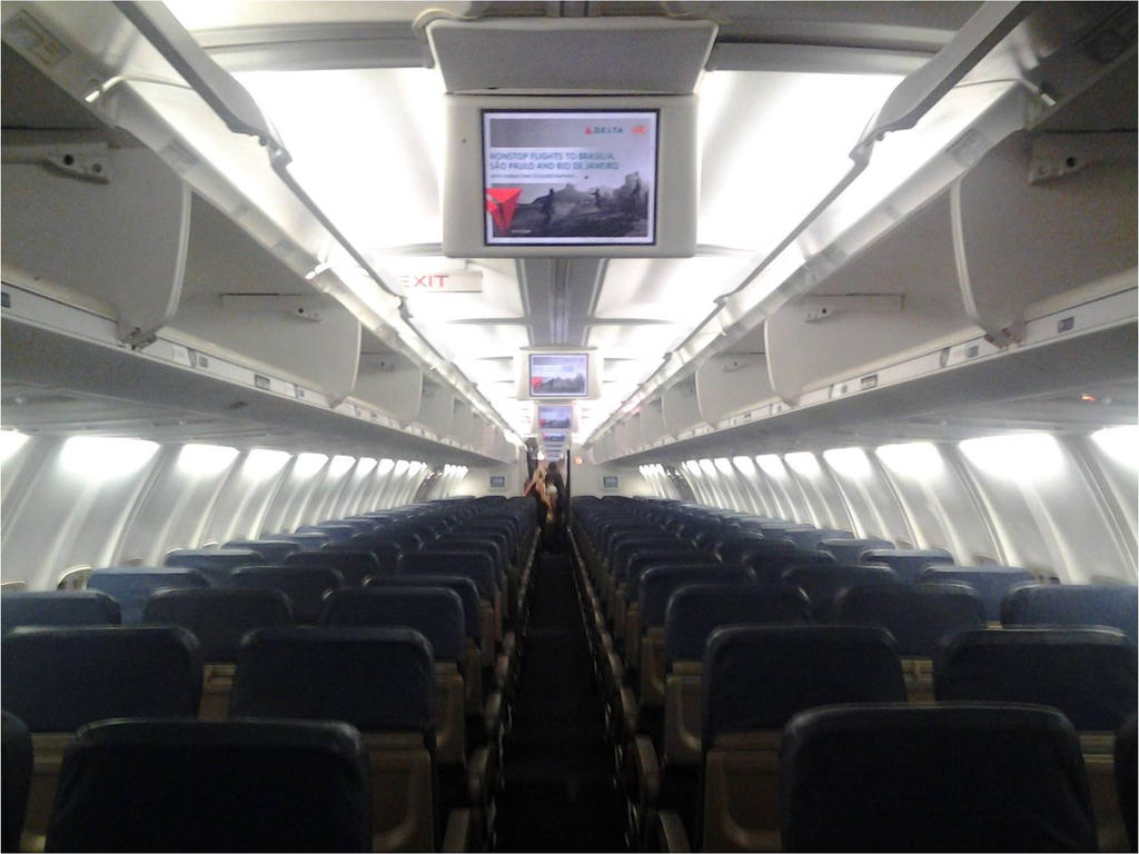 Delta Airlines Wifi Delta Airlines 757 200 5600 Etops 75a Cabin By Delta757