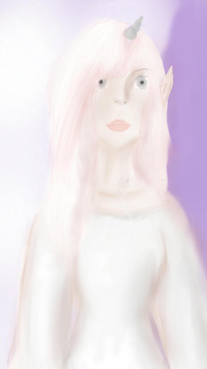 Unicorn Girl  by artnhaert