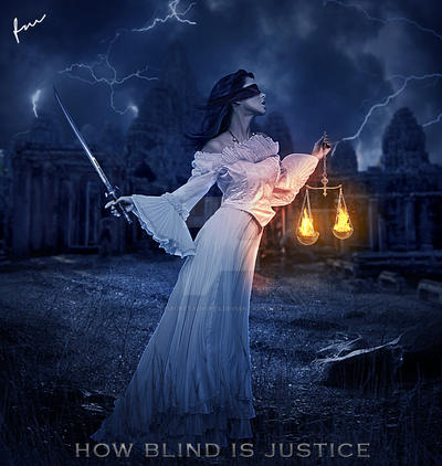How Blind Is Justice