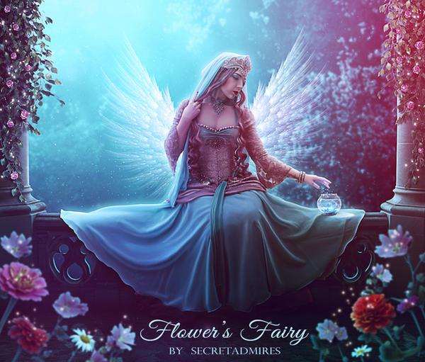 Flower's Fairy by Secretadmires