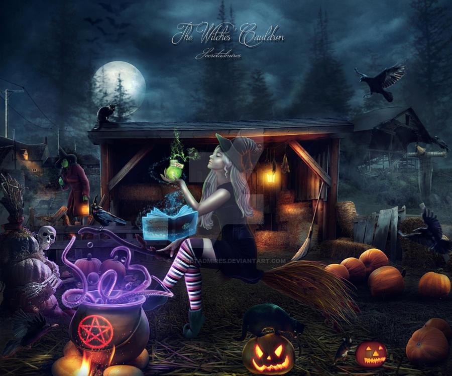 The Witches' Cauldron by Secretadmires