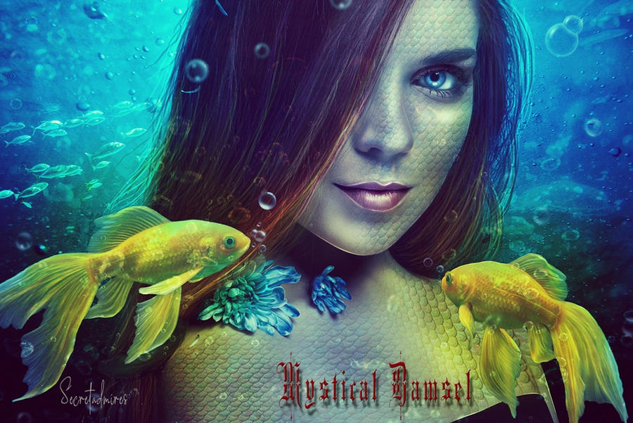 Mystical Damsel by Secretadmires