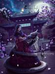Dragon's Temple by Secretadmires