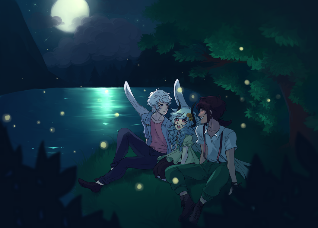 EE   Firefly Viewing by kingkimochi