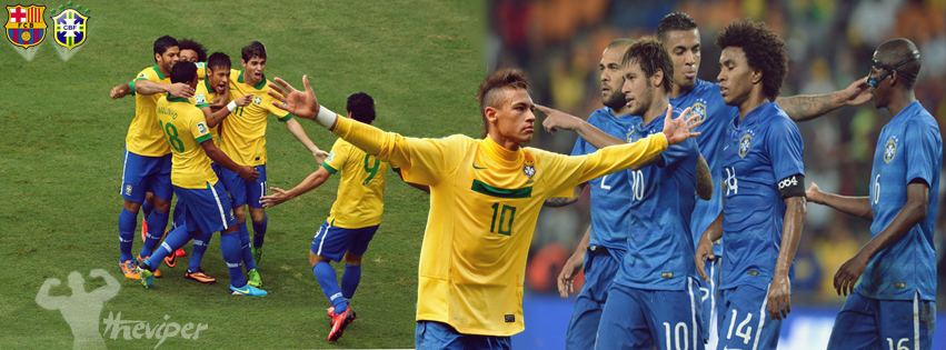 NEYMAR JR.  FACEBOOK COVER by sahmed420
