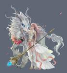 Kirin girl by yangqi