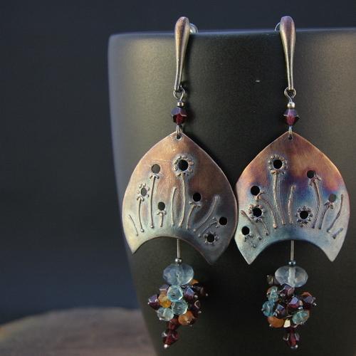 earrings XII by skladsznurowadel