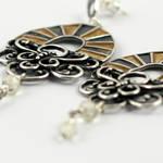 aztec noon earrings