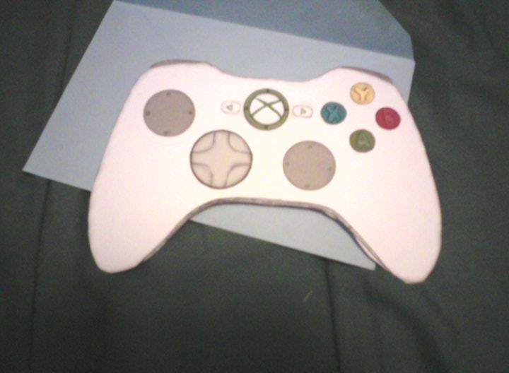 Xbox Controller Skin Template Xbox controller card b...