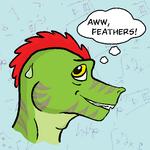 Aww Feathers Icon