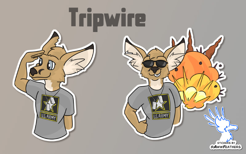 Tripwire Stickers by inejwstine