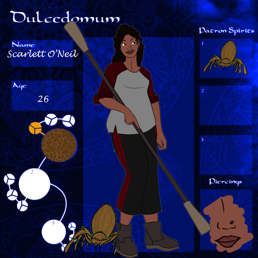 Dulce - Scarlett guardian sheet by ShadowsAndLight