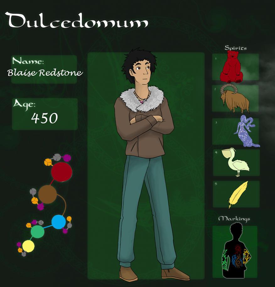 Dulcedomum - Blaise Redstone by ShadowsAndLight