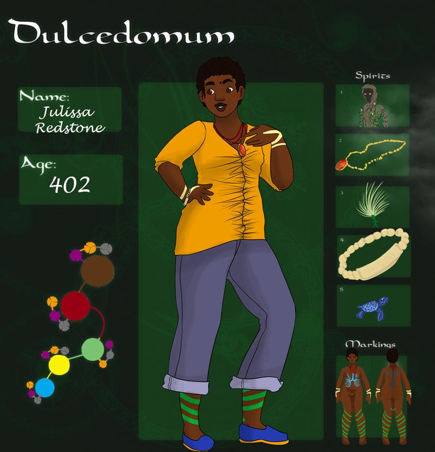 Dulcedomum - Julissa Redstone by ShadowsAndLight