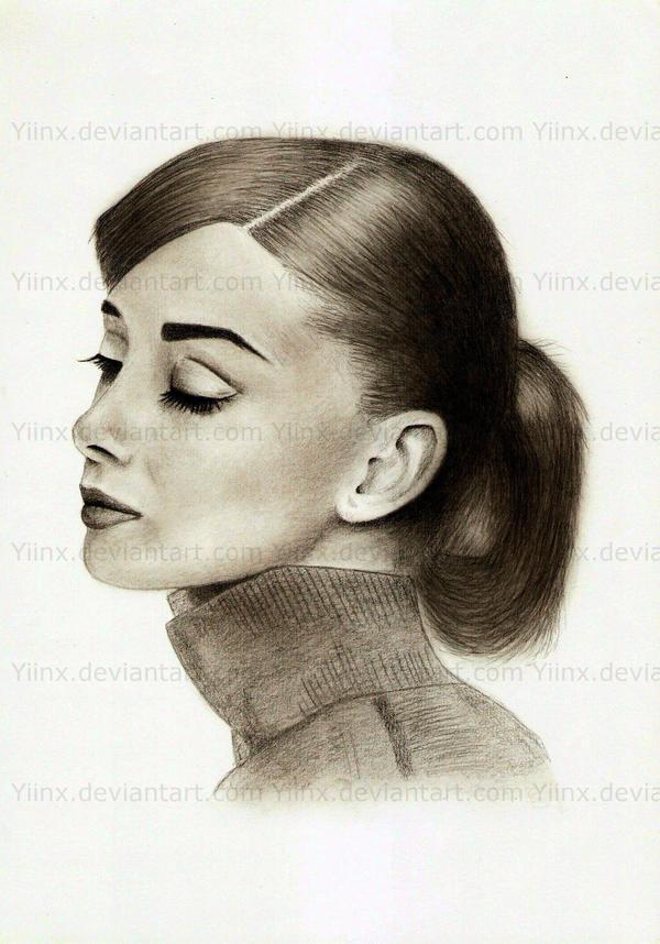 Audrey Hepburn by Yiinx