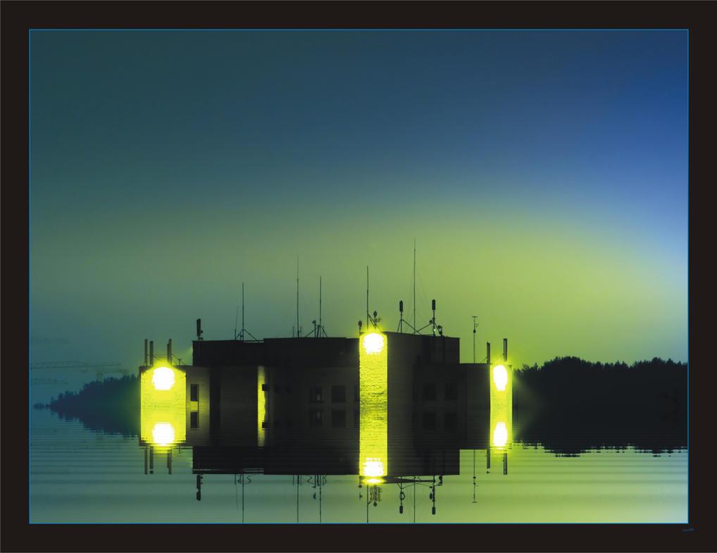 UFO Landing by rici66