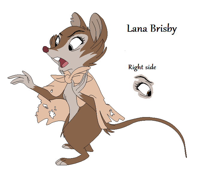 Lana Brisby - Mrs. Brisby's sister by HeroWolf95