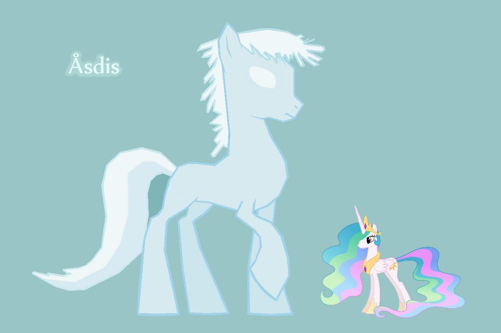 Ice pony by HeroWolf95