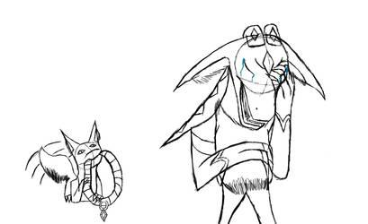 Guitara doodles 1 by RPCatgirl56