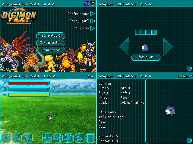 Digimon VPet v0.1 by TLT96