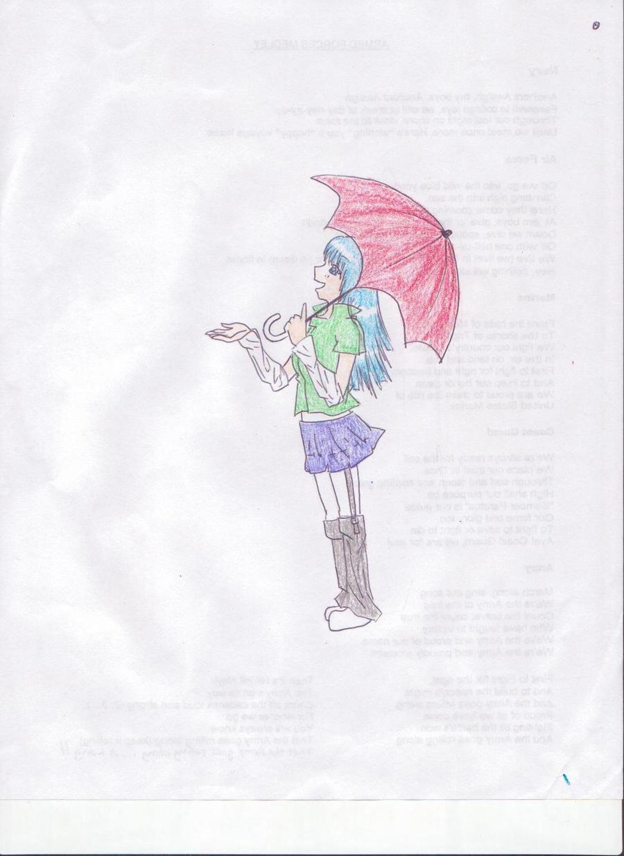 Rainy Day_Original by EverSnow