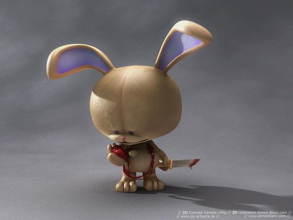 Dani' Bunny by simonblanc
