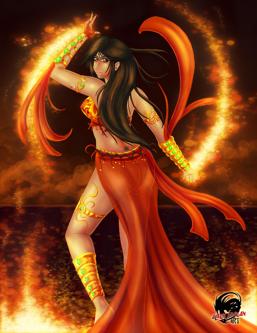 Fire Dance by Xiraus