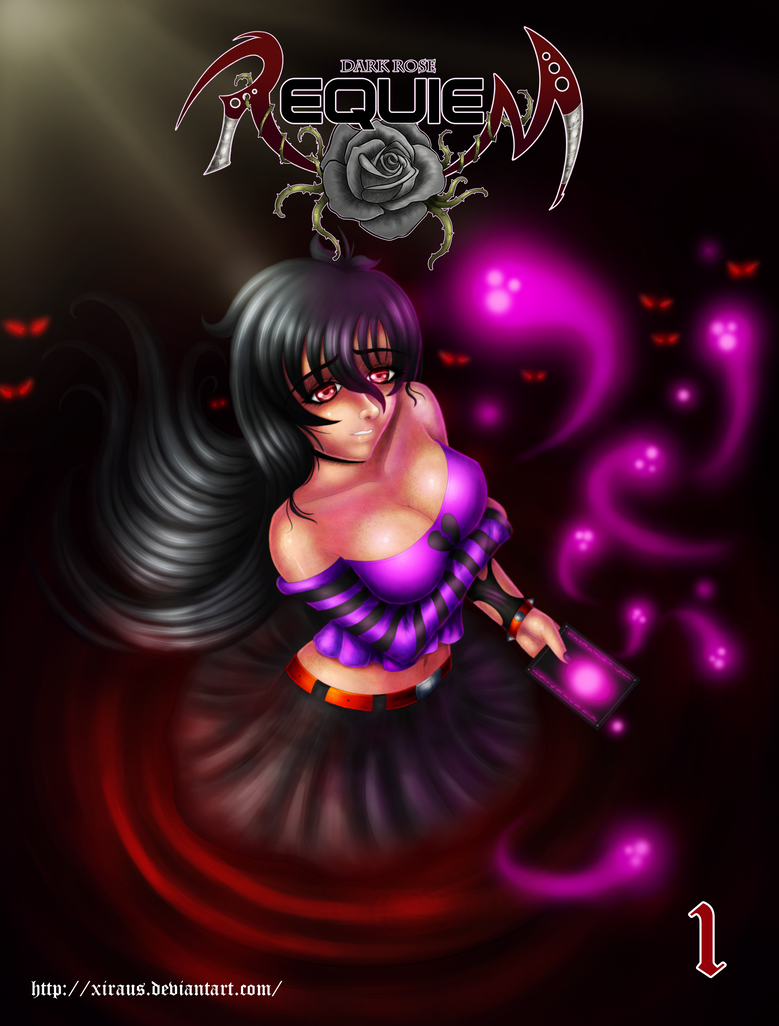 Dark Rose Requiem Cover I by Xiraus