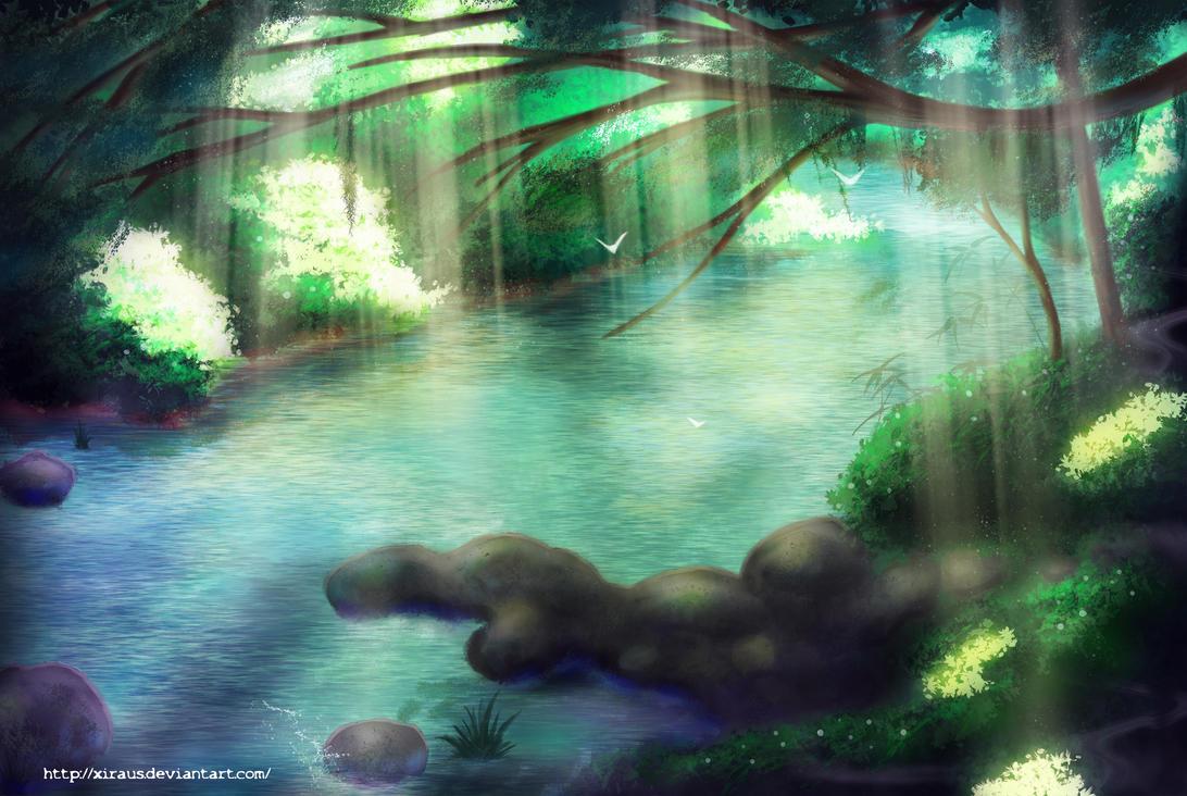 Enchanted River by Xiraus