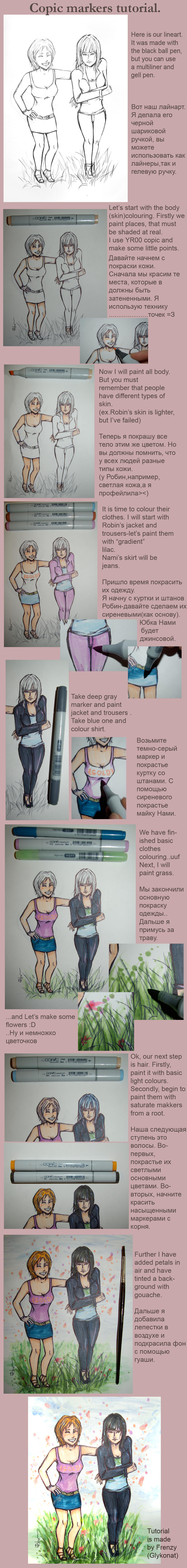 Copic tutorial - OP by GlykoNat