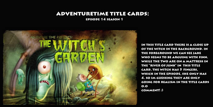Admin's AT Title Theory on AdventureTime-THEORY - DeviantArt