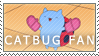 CATBUG Fan Stamp by Jailboticus