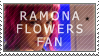 Ramona Flowers Fan Stamp by Jailboticus