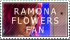 Ramona Flowers Fan Stamp by Jailboticus
