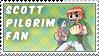Scott Pilgrim Fan Stamp by Jailboticus