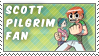 Scott Pilgrim Fan Stamp by Jailboticus