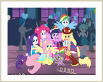 RENDER - MLP EQ Fall Formal Group Photo